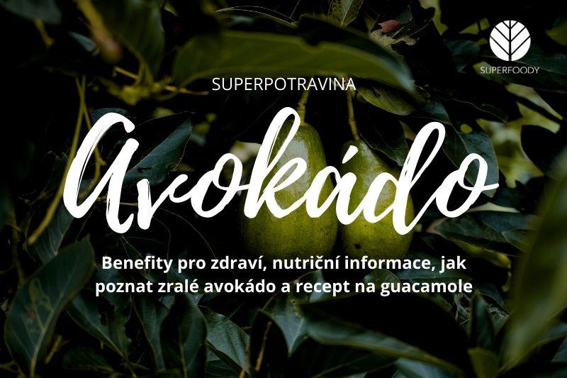 Avokádo – opravdová superpotravina a recept na tradiční guacamole
